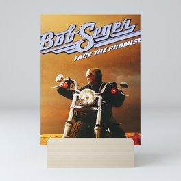 bob seger motorcycle 2021 Mini Art Print
