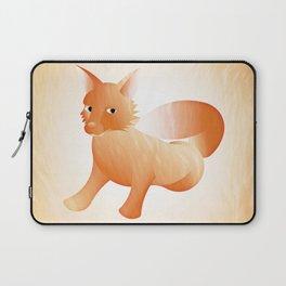 Red Little Fox (Full) Laptop Sleeve