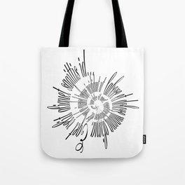 Lorem Ipsum (Black) Tote Bag