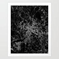 rome Art Prints featuring Rome by Line Line Lines