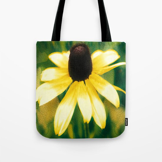 Vibrant Yellow Coneflower Tote Bag