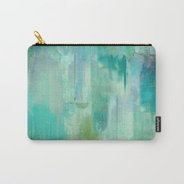 Aqua Circumstance Carry-All Pouch