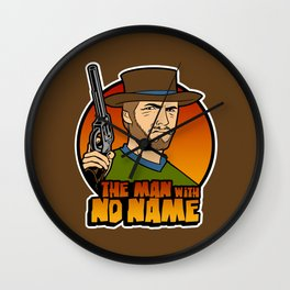 The man with no face Wall Clock