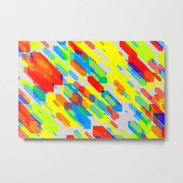 Color Cubic Metal Print
