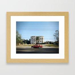 Cuba Car Framed Art Print