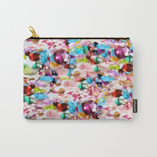 Nasty Girl's Camouflage Carry-All Pouch