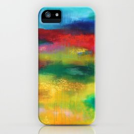 Silence on court, silence we run iPhone Case
