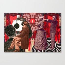 Wollens-Spiel Canvas Print
