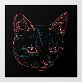 Tabby Kitty Canvas Print