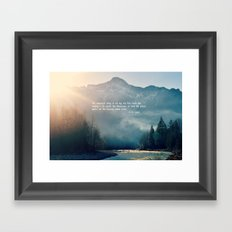 The Sweetest Thing Framed Art Print