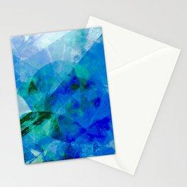 Precipice in Blue XVII Stationery Cards