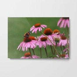 Happy Butterfly Metal Print
