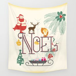 Christmas Noel Wall Tapestry