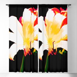 Song Of The Lilies Blackout Curtain