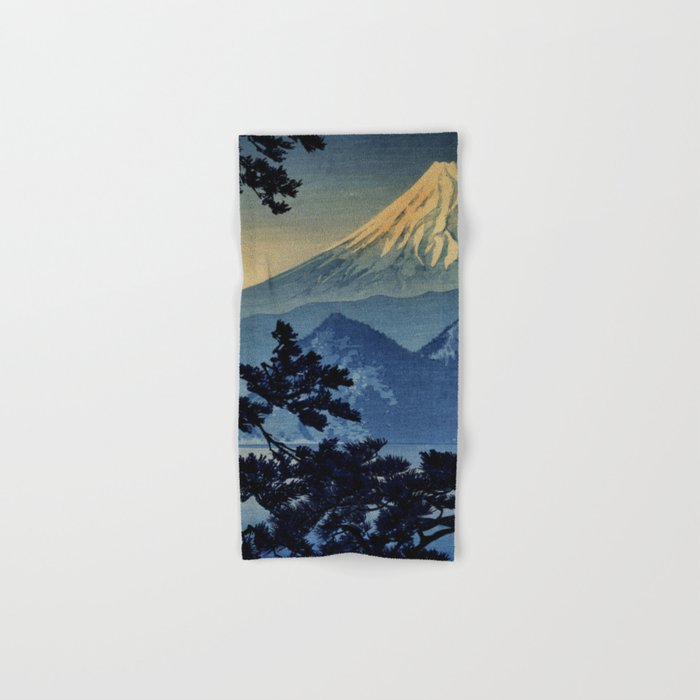 Seeing Far Within at Yonu Hand & Bath Towel