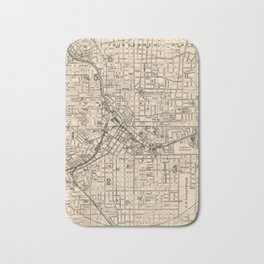 1906 Map of Atlanta, GA Bath Mat