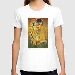 The Kiss Painting Gustav Klimt T-shirt