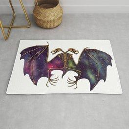 Bat twins Rug