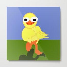 Whacky Bird Metal Print