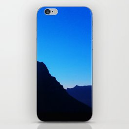 Dawn at Glacier National Park, Rocky Mountains, Going to the Sun Road, Logan Pass iPhone Skin
