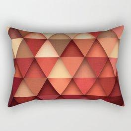 TRIANGULAR IV Rectangular Pillow