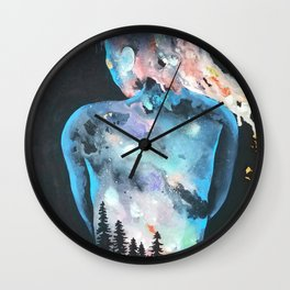 The Feeling of Being Wall Clock