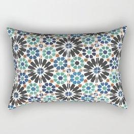 Arabic Tiles in Lisbon Portugal Rectangular Pillow