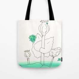 Poppy Seed Wash Tote Bag