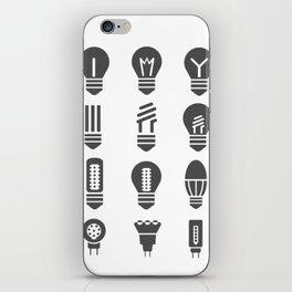 Set lamps iPhone Skin