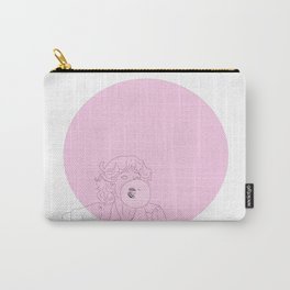 Frenchy Bubblegum Carry-All Pouch