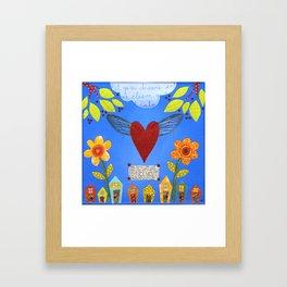 Magic Heart Framed Art Print
