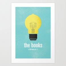The Books Art Print