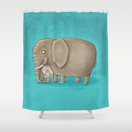 trunk nest Shower Curtain