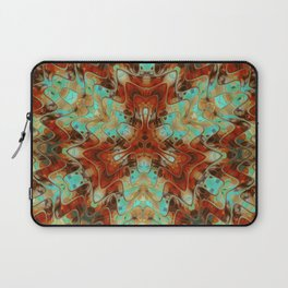 Scifi Rustic Geometric Laptop Sleeve