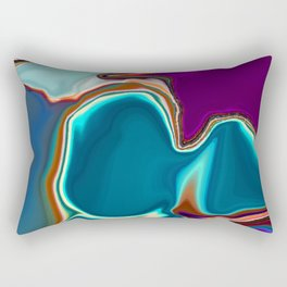 Liquid Color Rectangular Pillow