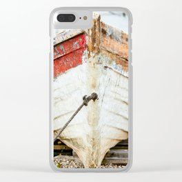 Mill Cove Tuna flat Clear iPhone Case