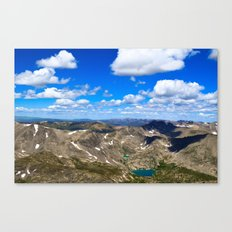 Above the World Canvas Print