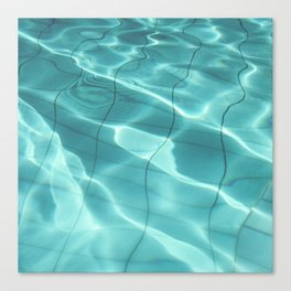 Water / Swimming Pool (Water Abstract) Canvas Print