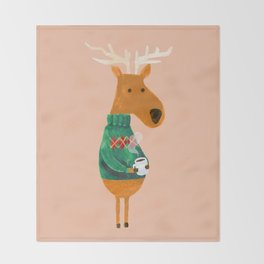 Hot Coffee Throw Blanket