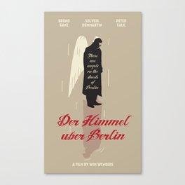 Der Himmel uber Berlin Canvas Print