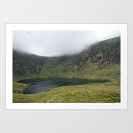 Wales Landscape 15 Cader Idris Lake Art Print