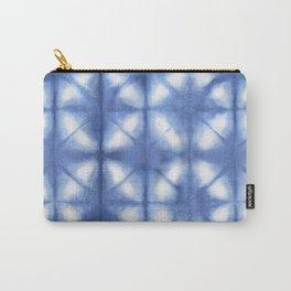 Shibori Itajime Carry-All Pouch
