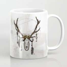 Bestial Crowns: The Elk Coffee Mug