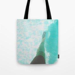 Step into Ocean Tote Bag