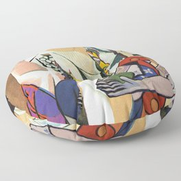 Mixed Picasso · 3 Floor Pillow