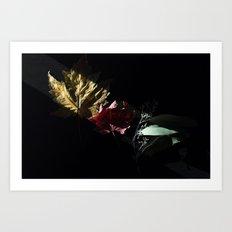 Slice of Sun: Autumn Art Print
