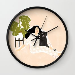 Best friendship story Wall Clock