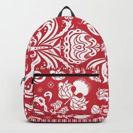 Scarlet Bandana Backpack