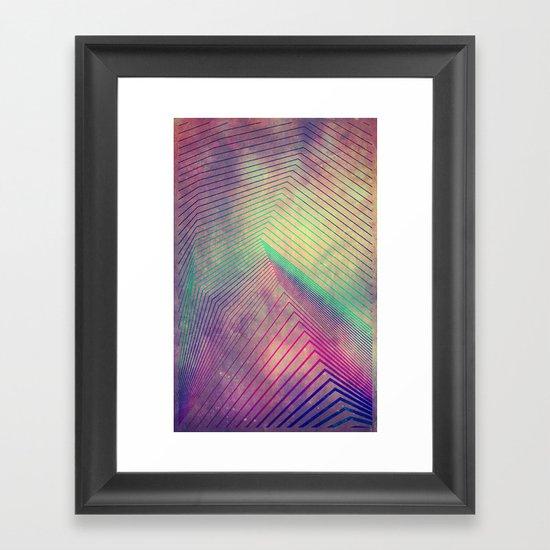 lyyn tyym Framed Art Print