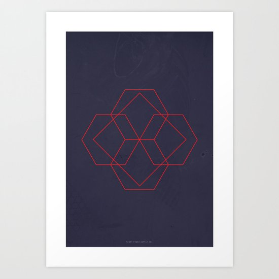 Geometric No.4 Art Print
